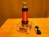 Image: The Mini-Tesla Coil looks great finished, but it's not working yet...