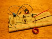 Image: The breadboard ULV mockup circuit...