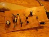 Image: The DC Doubler moved from the breadboard to perf board...