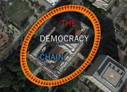 01/03-The Democracy Chain @ L.A. City Hall