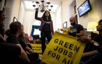 02/05-SF Green New Deal Launch Party @ Manny's, SF