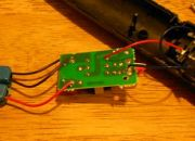 Image: The circuit board for the Mini Tesla Coil...
