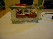 Image: The finished base - capacitor bank side...