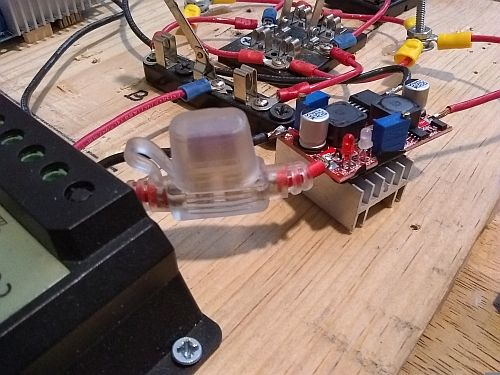 Image: The heat sink did actually help reduce the small amount of radiated heat from the component...