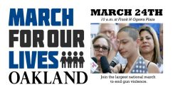 03/24-March for Our Lives Oakland RALLY...