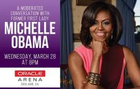 03/28-A Moderated Conversation with Michelle Obama @ Oracle Arena, Oakland...
