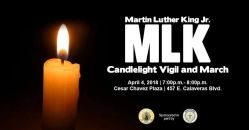 04/04-MLK Candlelight Vigil and March @ City of Milpitas City Hall...