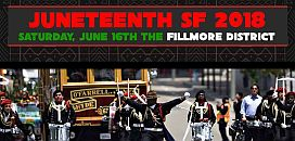 06/16-68th Annual Juneteenth Festival from Alamo Square to the Fillmore, SF...