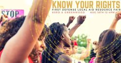 08/18-Know Your Rights Resource Fair, 6300 S Greenwood Ave, Chicago...